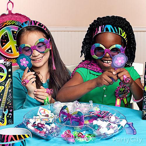 Neon Doodle Party Ideas
