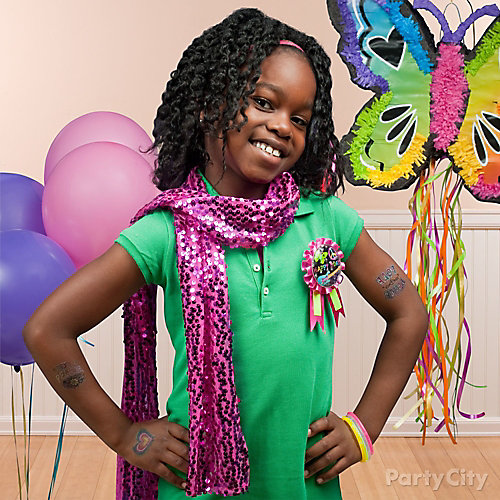 Neon Doodle Birthday Outfit Idea