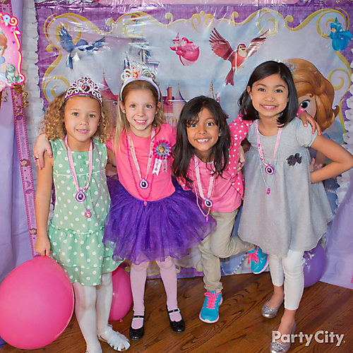 Sofia the First Photo Booth Idea