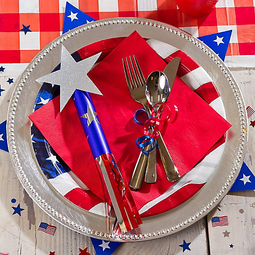 4th of July Place Settings Idea
