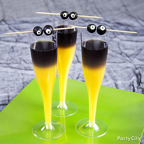 Halloween Goblin Mimosa Cocktail Recipe