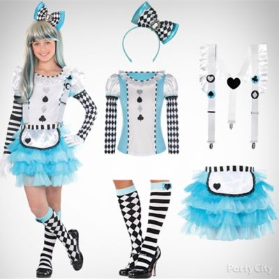 Girls Alice in Wonderland Costume Idea Top Girls Halloween