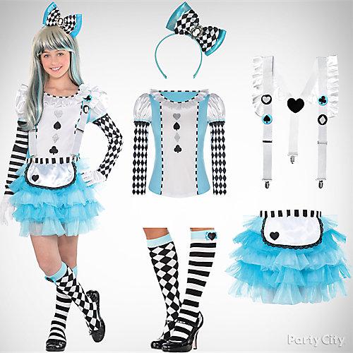 Girls' Alice in Wonderland Costume Idea