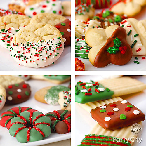 Holiday Dipped Cookies Idea