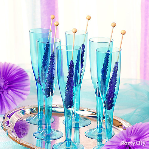 Rock Candy Swizzle Sticks Idea