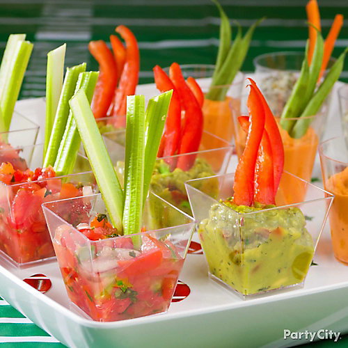 Individual Crudites Ideas