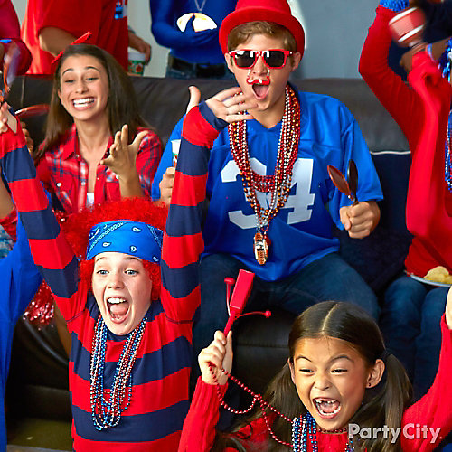 Football Team Dress Up Ideas - Party City   Party City Canada