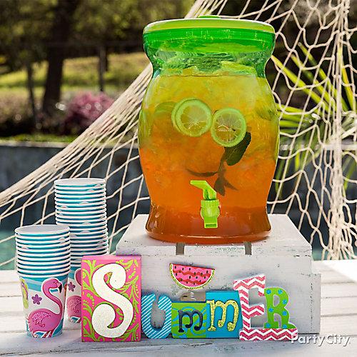 Summer Sun Tea Idea