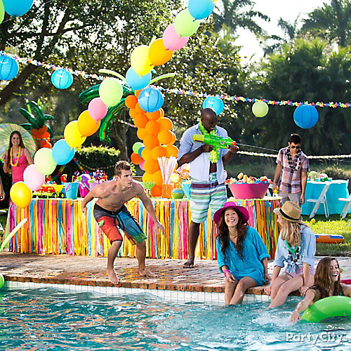 Pool Party Idea Summer Pool Party Ideas Summer Party Ideas Theme Party Ideas Party Ideas