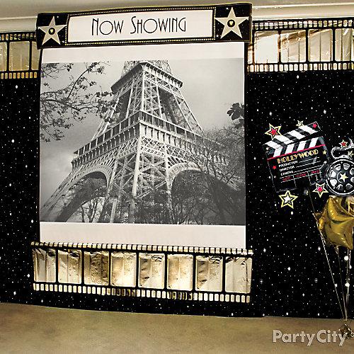 Hollywood Photo Booth Idea