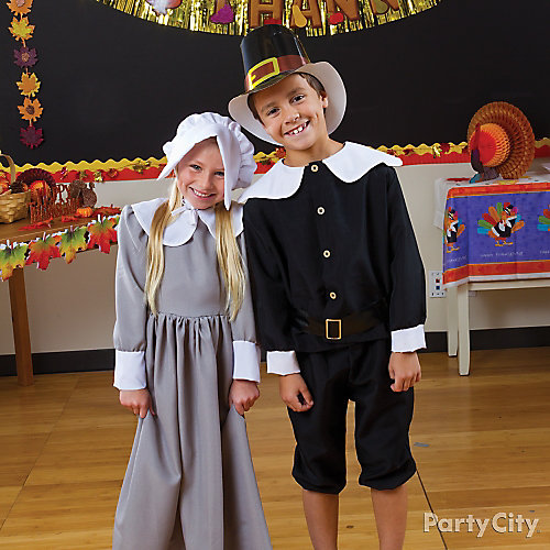 Kids Pilgrim Dress Up Idea