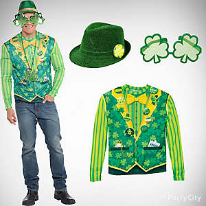 St. Patricks Dapper Dude Outfit Idea