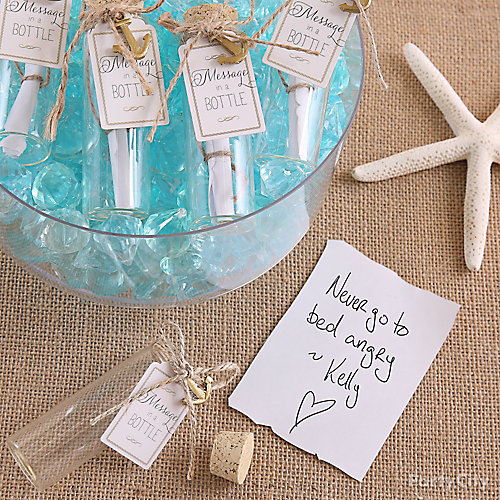 Message In A Bottle Activity Idea
