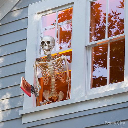 Skeleton in the Window Idea