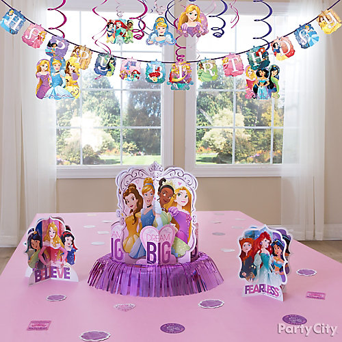 Disney Princess Essential Decorations Idea