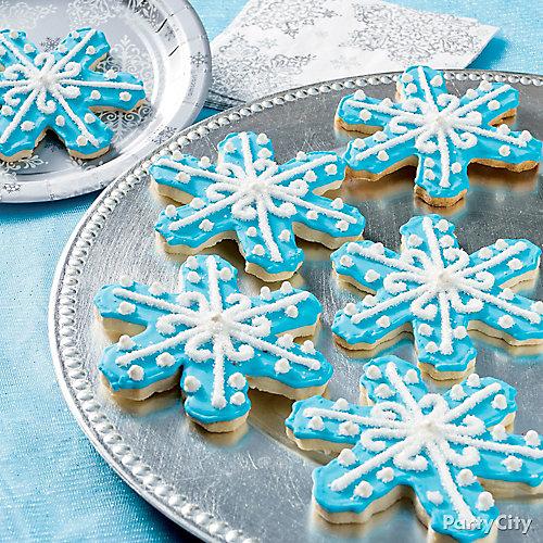Frosty Snowflake Cookie Idea