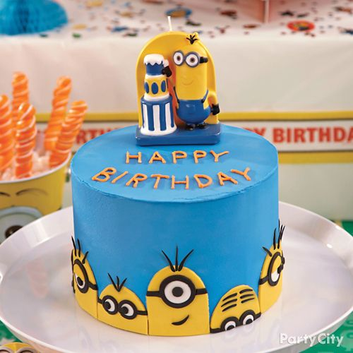 Despicable Me Minions Cake How To  Party City