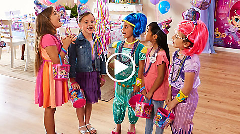 Host a party fitting for a genie's palace!
