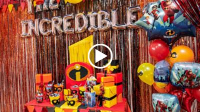 The Incredibles Party Ideas Party City