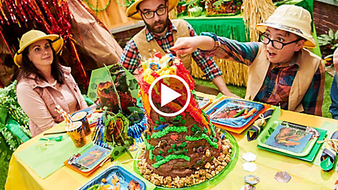 Make a Volcano Cake