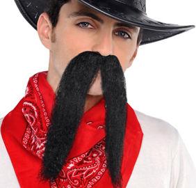 Black Cowboy Moustache 6d0dd261310