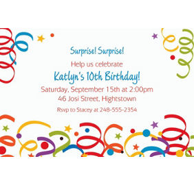 custom colorful birthday banner 6ft party city