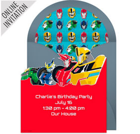 Online Team Transformers Robots In Disguise Invitations