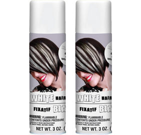 White Hair Spray 3oz | Party City
