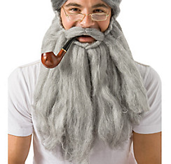 Fake Beards - Fake Mustaches & Costume Beards | Party City Old Man Fake Beard