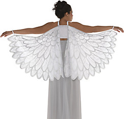Costume wings angel wings fairy wings butterfly wings party city adult snow fantasy angel wings solutioingenieria Gallery