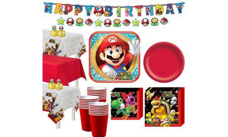 Super Mario Invitations Party City