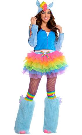adult flirty rainbow dash costume my little pony