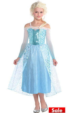 S Elsa Costume Frozen