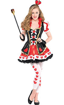 Queen of Hearts Costumes for Kids & Adults | Party City