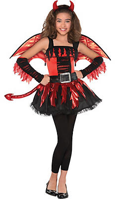 Girls Angel Costumes - Devil Costumes for Girls   Party City Canada