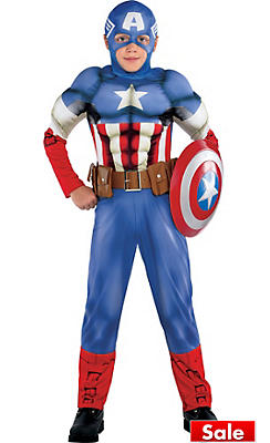 Captain America Costumes for Kids & Adults - Captain America ...
