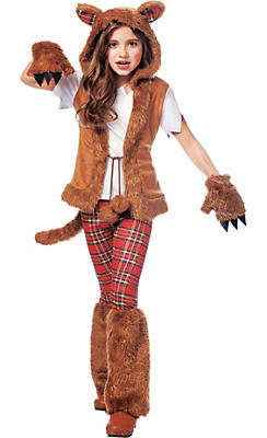 Werewolf costumes for kids adults werewolf halloween costumes girls howl o ween werewolf costume solutioingenieria Image collections