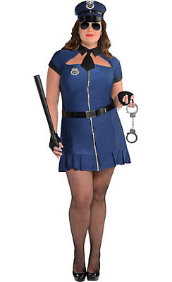 Police costumes sexy cop costumes for women party city adult bad cop costume plus size solutioingenieria Images
