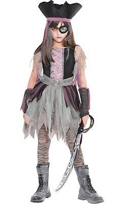 Girls Haunted Pirate Costume