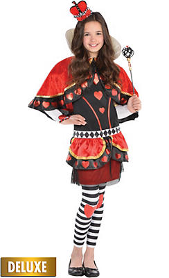 Alice in wonderland costumes alice in wonderland costume ideas girls red queen costume solutioingenieria Choice Image