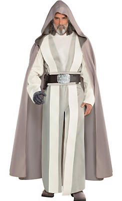Star wars costumes for kids adults party city adult luke skywalker costume star wars 8 the last jedi solutioingenieria Images
