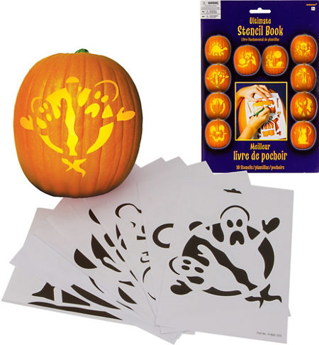 Cute Halloween Pumpkin Decorating Kit | Party City