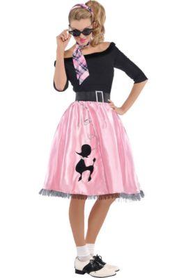 bb576275b08c Adult Sock Hop Sweetie  50s Costume
