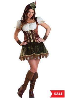 teen girls robin hood honey costume