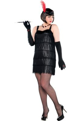 Flapper Costumes for Kids   Adults - Flapper Dresses   Accessories ... 8f35336be