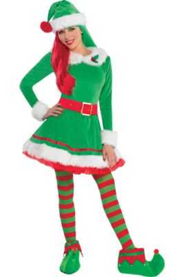 c6f7aad55134 Christmas Elf Costumes for Kids & Adults - Elf Outfits & Accessories ...