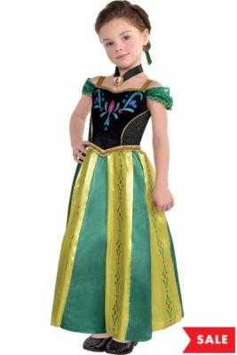 1ff700de66d3 Girls Anna Coronation Costume - Frozen