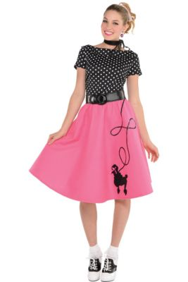 8ee78fa851 50s Costumes for Women - 50s Clothing | Party City
