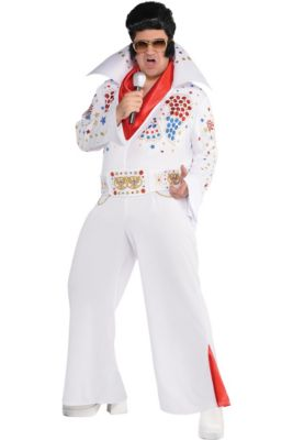 6a63781e013 Adult King of Rock  n  Roll Costume Plus Size