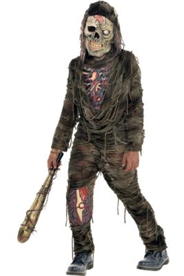boys creepy zombie costume